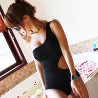 2014 Brand New One Shoulder Women Swimwears Swimsuits/Desgual Irregular Women One Pieces/Sexy Bathing Suit Women Beachwear