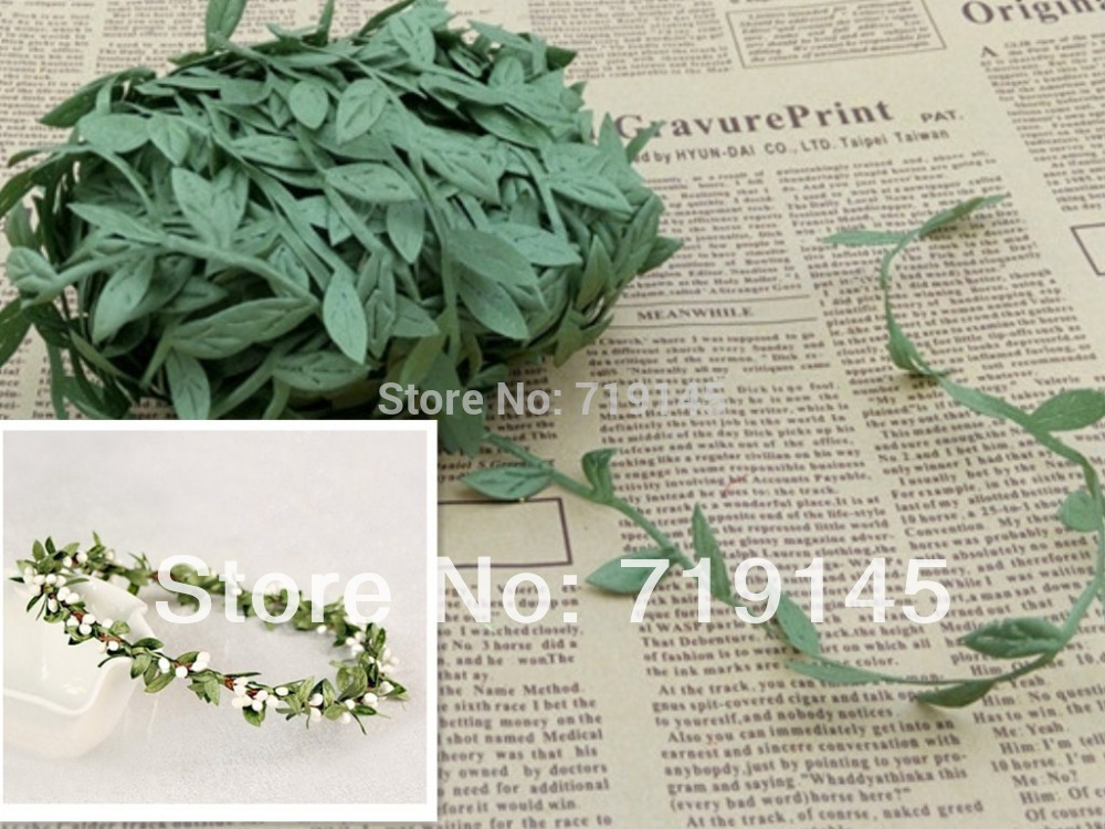 DIY wreath leaf vine FOR DIY GARLAND ACCESSORY,Floral Fillers(China (Mainland))