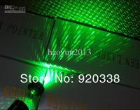 Wholesale - High-power 10000mw/10w 6000m green laser pointers burn match +key+battery+changer+box+FREE SHIPPING