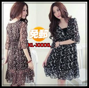 Женское платье Big xl/4xl big0002 женское платье vfemage xl 797 a797