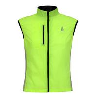 WOLFBIKE Bike Bicycle Windcoat Sportswear Men's Breathable Cycling Sleeveless Vest Jacket Green