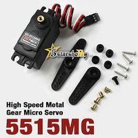 GS-5515MG 15kg High Torque Throttle Steering RC Servo Metal Gears for Car Servo