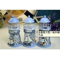 Lighthouse style tieyi mousse decoration crafts
