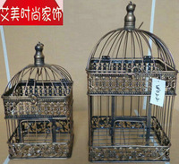 Fashion iron birdcage fashion wedding decoration props lantern