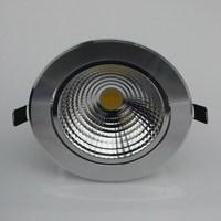 20pcs/pack  led ceiling light aluminum material 1500lm 15w led cob down light 85-265V
