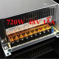 High Power CNC Stepper/Servo Motor Driver Switching Power Supply 720W 48V 15A,AC-DC, 110V/ 220V,cheap !! H1558