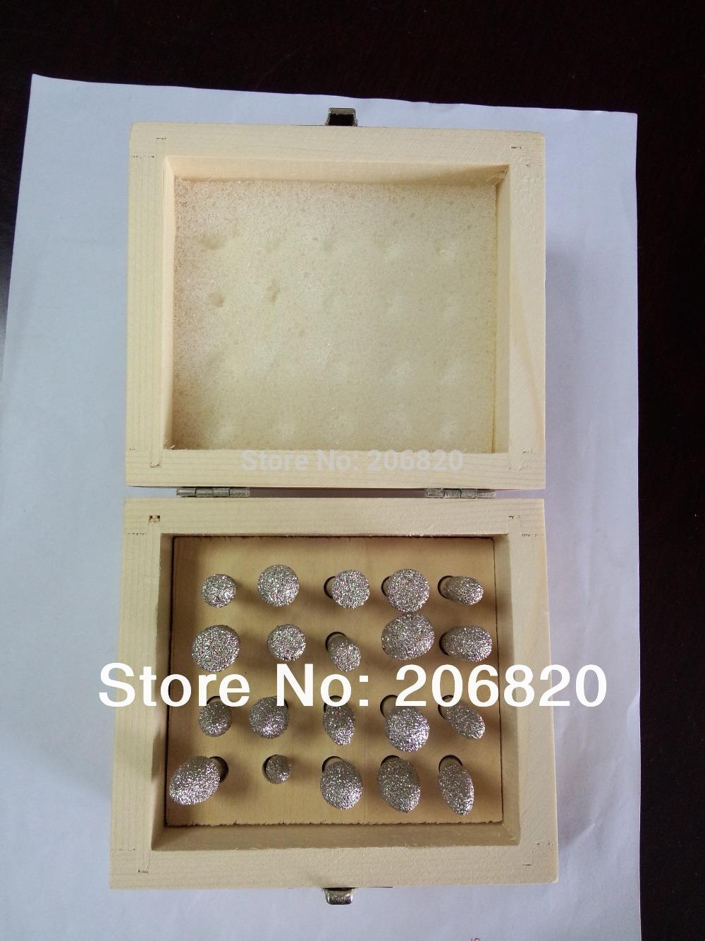 2014 Rushed Hilti Saw Dremel Accessories free Shipping Vacuum Brazed Diamond Burr Set Stone Marble Engraving Bit for Cnc Machine(China (Mainland))