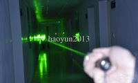 Wholesale - 6000mw 532nm high power green laser pointers can focus burn match/pop balloon+battery+charger