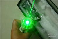 Wholesale - - waterproof 6000mW / 6W focusable burning green laser pointer + free laser glasses 1pcs