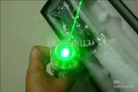 Wholesale - - waterproof 6000mW / 6W focusable burning green laser pointer + free laser glasses 1pcs