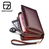 brand mens wallet menlarge capacity genuine leather wallets purse men clutch bag card holder carteira masculina couro billeteras