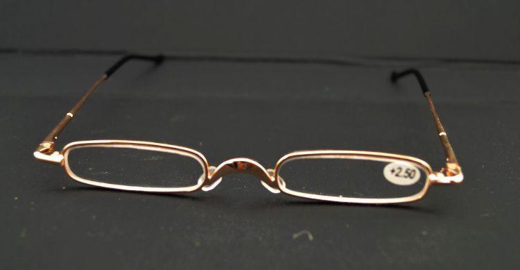 high quality ultra slim trim reading glasses metal mini