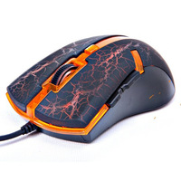Professional Wired LED Light Mouse 3200dpi 3D 6Buttons Optical Gaming Mouse Game Mice for PC Computer Desktop Gamer