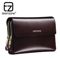 brand mens wallet men zipper large capacity genuine leather wallets purse men clutch card holder carteira masculina billeteras