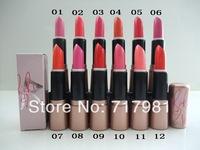 2014 NEW Makeup rihanna RiRi Hearts Lipstick / lip balm 12color (2pcs/lot)