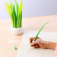 (12 pcs/lot) Hot Gel Pen,roller pen Sweet and pure and fresh grass gel pen,material escolar,office&school pen,free shipping