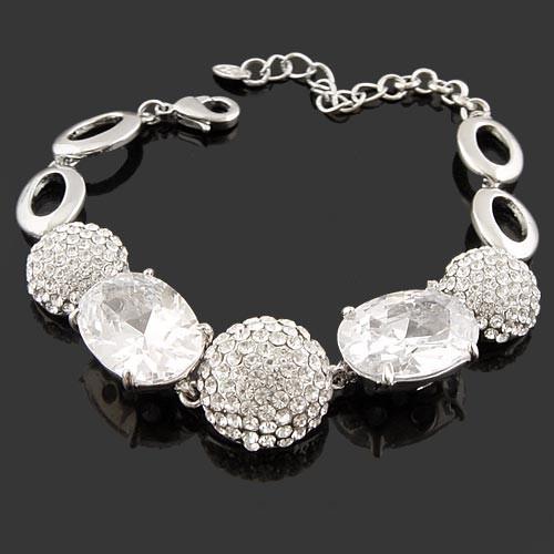 chegada new hot- venda neoglory zircão acessórios jóias pulseira strass completo tudo- jogo acessórios noiva feminino(China (Mainland))