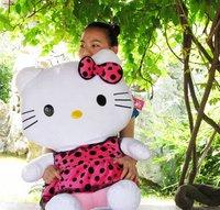75CM  Hello Kitty Plush Toys Soft PPT Cotton Girlfriend Gift Birthday Gift Hot Sale Cheap Price