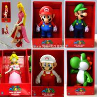 new 2014 hot anime toy super nintendo mario bros princess model action figure classic toys box gift for girls boys kids children