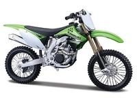 Kawasaki KAWASAKI kx450f green alloy model motorcycle