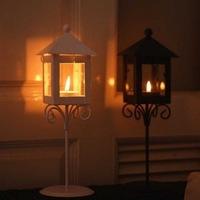 Zakka strightlightsstreetlights mousse classic floor lantern wrought iron decoration day gift