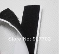 """(CM779) Lot 25 Meters Black Self Adhesive Velcro Roll 3/4"""" Wide Hook Loop Tape 20mm"""