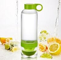 High Quality warter bottles new design fashion lemon drinkware Cheap Wholesale fruit juice cup popular lemon water bottle cup