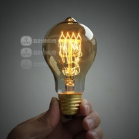 E27 spiral incandescent lamp bulb light source vintage light bulb