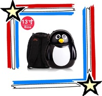 13-inch Cuties penguin children eggshell crust backpack schoolbag students free shipping