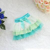 2014 spring and summer girls skirts cake skirt veil tutu skirt kids princess short skirts Multicolor fight