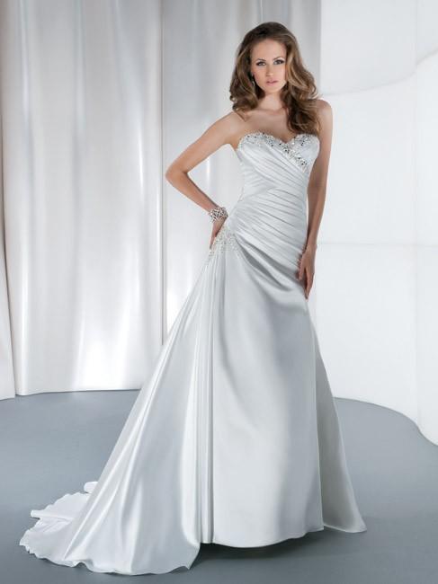 Popular low cut back wedding dresses aliexpress for Low cut back wedding dress