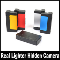 Real Lighter Hidden Camera With Recording Alone Motion Detection mini DVR