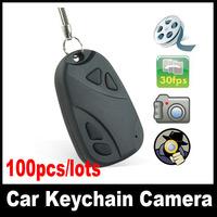 DVR 808 keychain Hidden camera,Portable Car key cameras Mini hidden DVR 100pcs/lots Free DHL ship