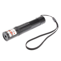Powerful High-Power 650mm Red Beam  Laser Pointer (1x16340 Battery) Tactical Pen