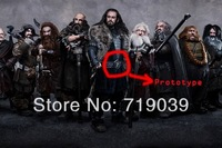 20pcs/lot Wholesale Free shipping Hot Vintage Charm The Hobbit Thorin belt buckle necklace men jewelry,original factory supply