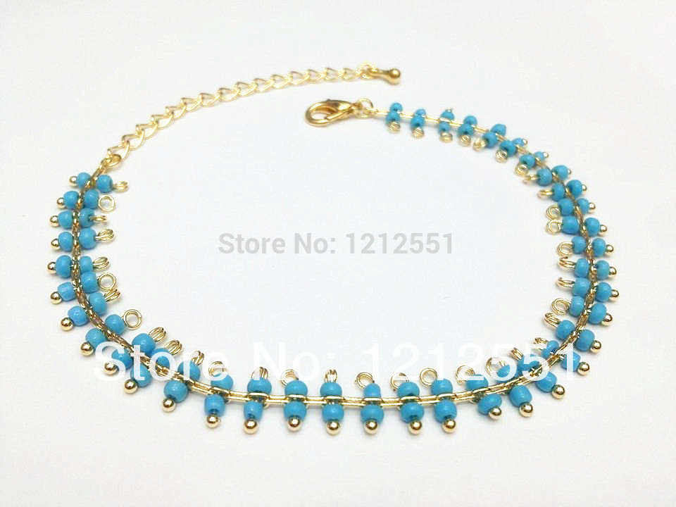 New 2014 Hot sold! !Free Shipping!!fashion gold plated jewelry,ankle bracelet.(JL-12)(China (Mainland))