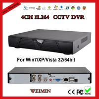 4ch CCTV DVR Recorder, H.264,HDMI VGA output, Mobile Phone Internet View,Security System cctv camera dvr.