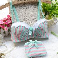 Intimates Free Shipping 2014 New Women Sexy  Straps Bra Sets Back Closure BRA +  Panties Lace Sexy BRA SETS