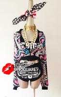 2ne1 hiphop hip-hop female singer ds costume costumes fashion doodle lo shi short jacket