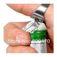 Good quality Brand New Stainless Steel Finger Ring Bottle Opener Bar Beer tool   1000pcs
