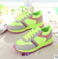 In the spring of 2014 with han edition increased women's sponge thick bottom canvas shoes Leisure sports shoes
