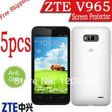 free shipping ZTE V965 matte anti-glare screen film.5pcs original phone ZTE V965 screen protector.cell phone LCD protective film