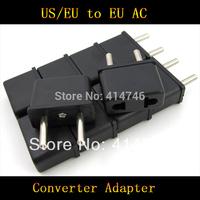 10PCS/LOT High quality EU Plug,Universal US to EU AC Power Plug USA To Euro Travel Converter Adapter Travel Converter Adapter