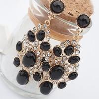 Min order is $10(mix order) Fashion exquisite fashion elegant drop earrings jewelry rhinestone korea women earrings
