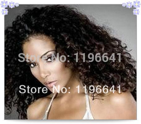 popular human hair half wigs cheap human hair half