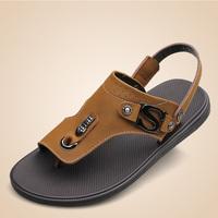 2014 summer beach man new arrival free shipping Cork babouche birkenstock sandals flats flip-flops men slipper shoes sandals