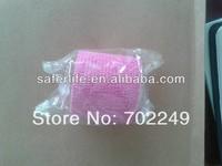 wholesale sports protective supply 5cm x 4.5m color self adhesive elastic non woven cohesive bandage