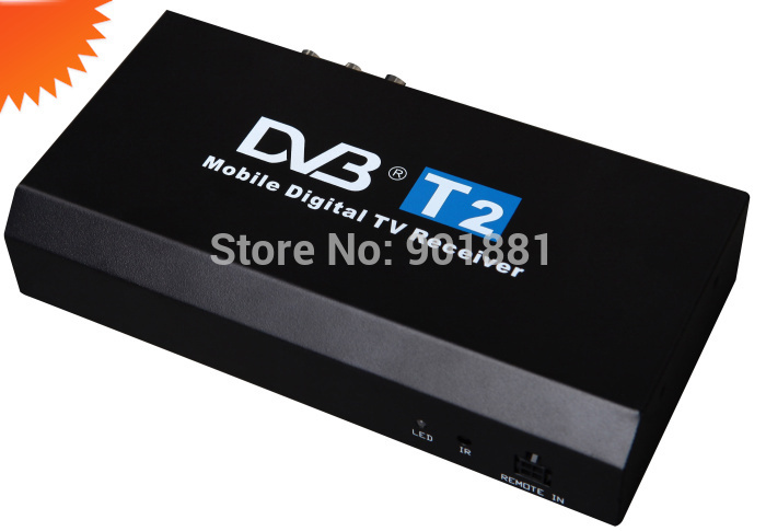 HOT car Mobile dvb t2 HD MPEG-4 H.264 1920*1080p time-shifting PAL/NTSC HDMI 1.3 ,YPbPr CVBS ,L/R output U-FLASH HDD media play(Hong Kong)