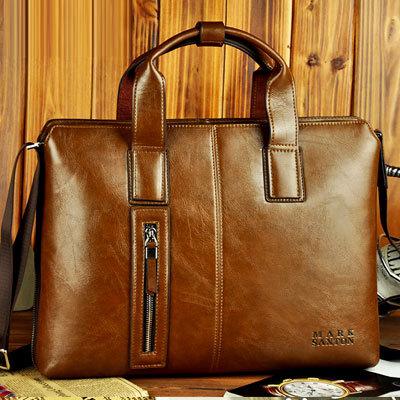 Mark Dayton is still new cross-section business casual man bag fashion handbag computer bag AM018(China (Mainland))