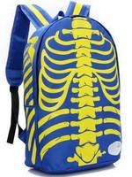 2014 arrival water resistant canvas backpack bag school bag for girl/boy printing backpack hiking backpacks wholesale free ship